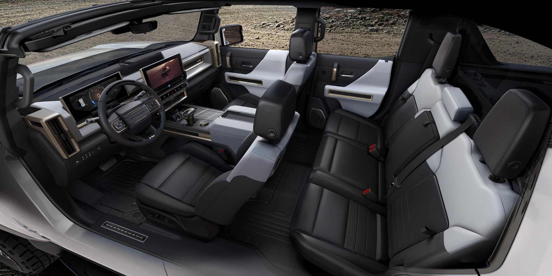 электрический GMC Hummer EV фото