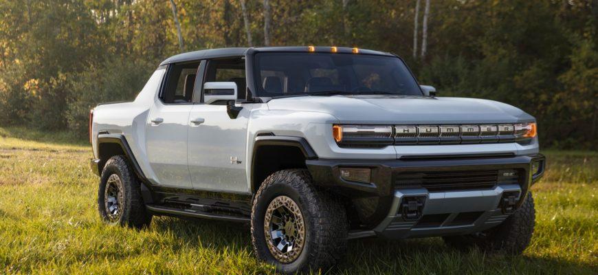 фото GMC Hummer EV 2022