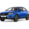 фото Lada Vesta Cross Black 2021 года
