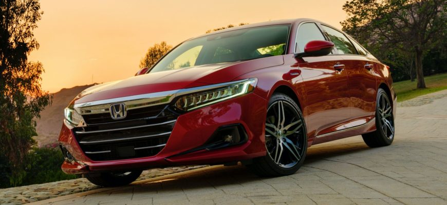 фото нового Honda Accord 10 2021