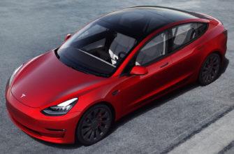 фото новой Tesla Model 3 2021 года