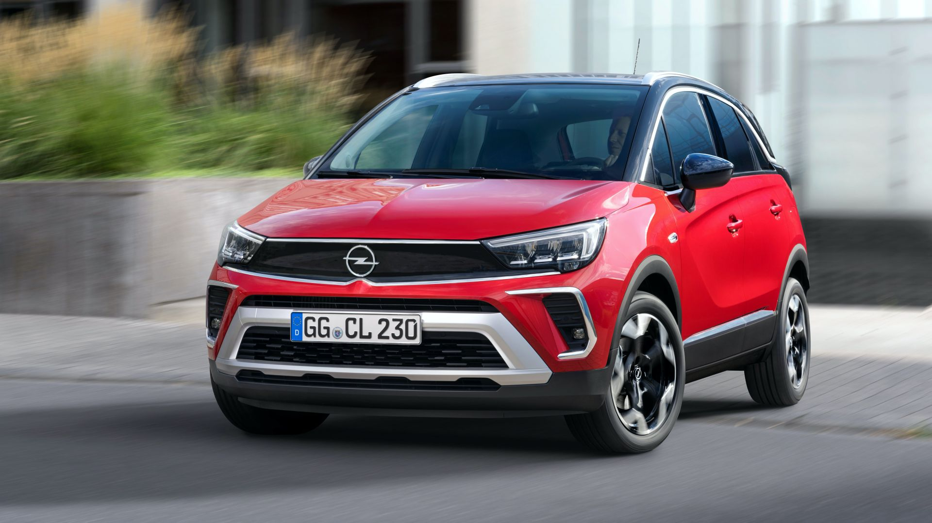 фото Opel Crossland 2021 года