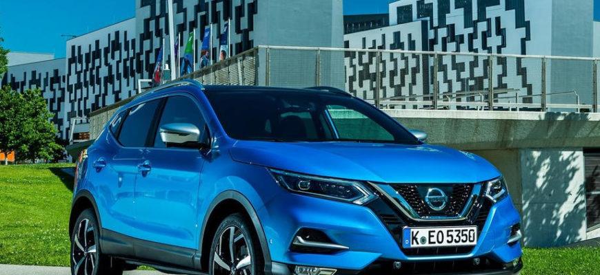 Nissan Qashqai 2020 в России