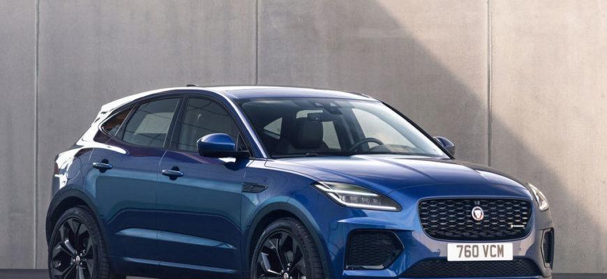новый Jaguar E-Pace 2021 фото