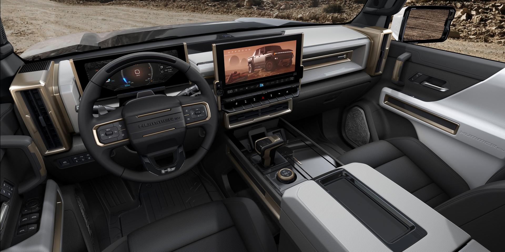 салон GMC Hummer EV