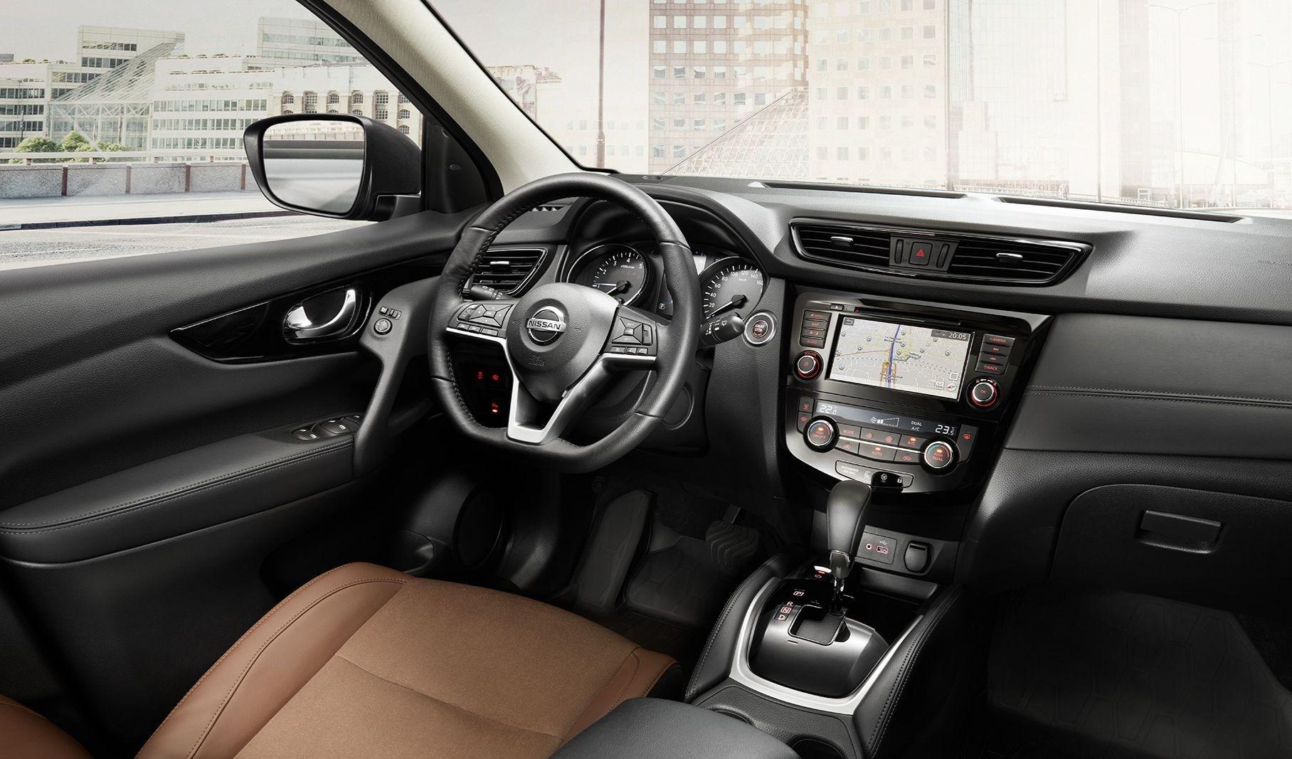 салон Nissan Qashqai 2020 - 2021 в России