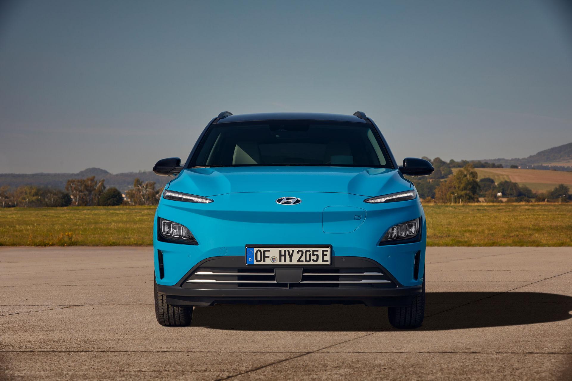 фары Hyundai Kona Electric 2021
