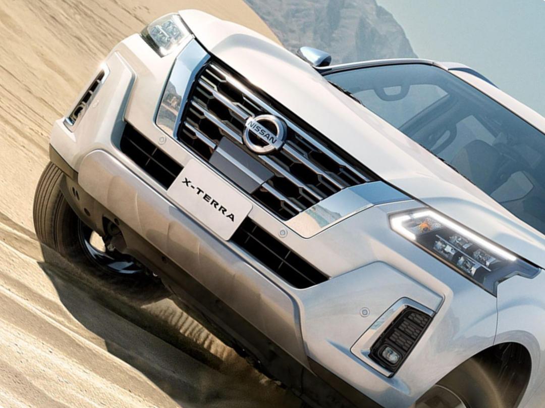 фары, решетка, бампер Nissan X-Terra 2021