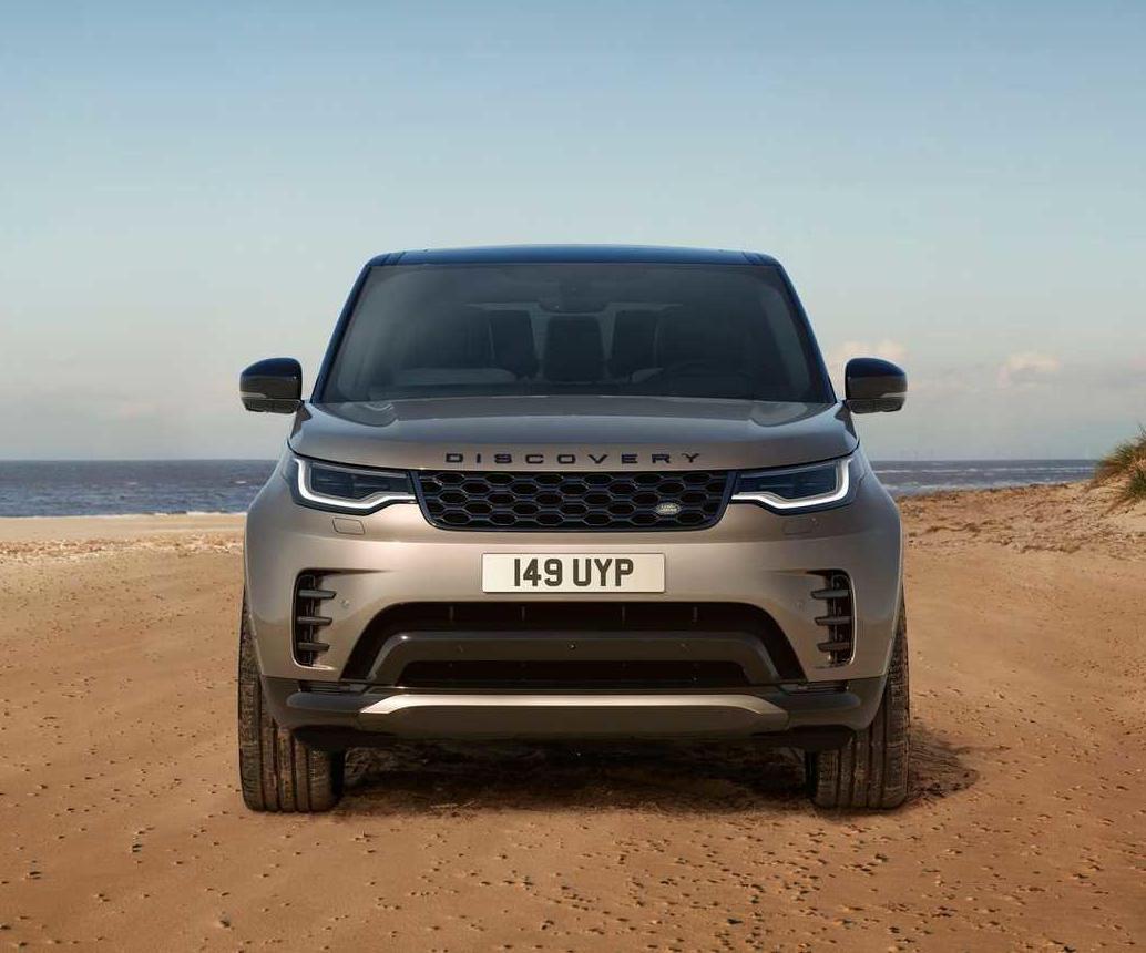 фары, решетка, бампер новый Land Rover Discovery 2021