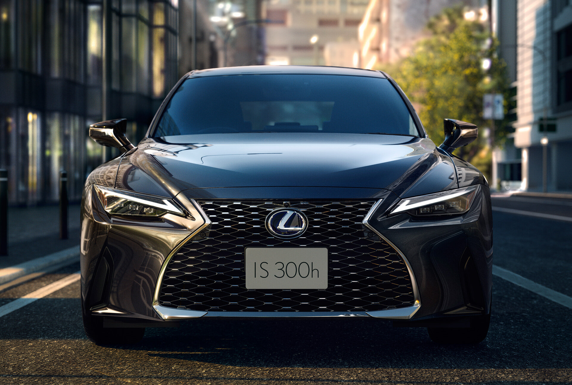 фары, решетка Lexus IS 300h 2021