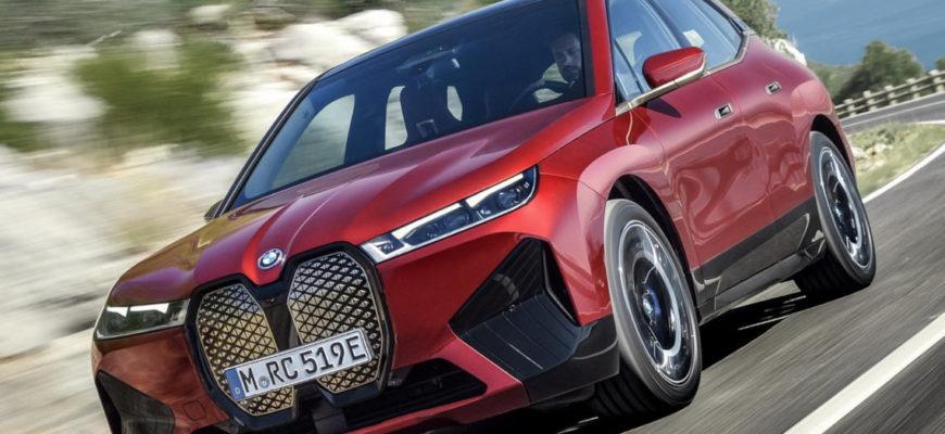 фото BMW iX 2022