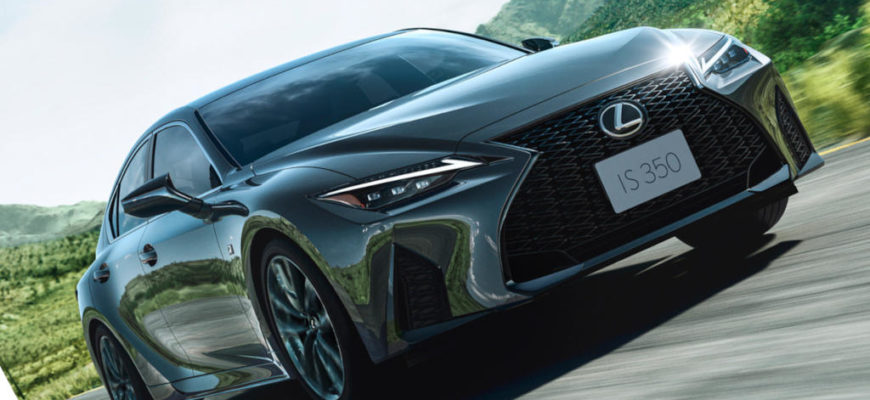 фото Lexus IS 2021