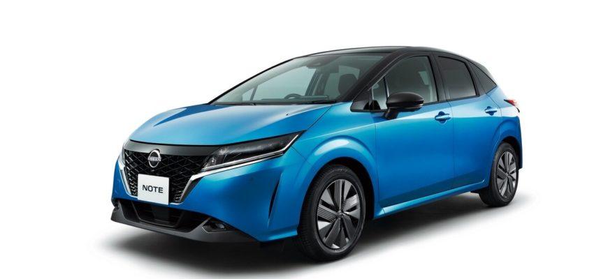 фото Nissan Note 2021 года