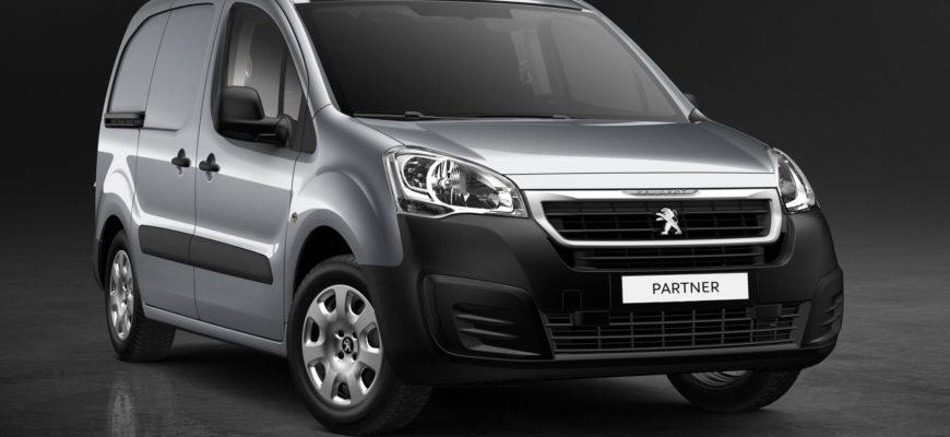 фото Peugeot Partner 2021 российской сборки