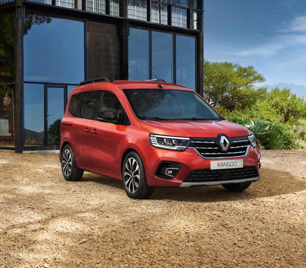 фото Renault Kangoo 2021 года