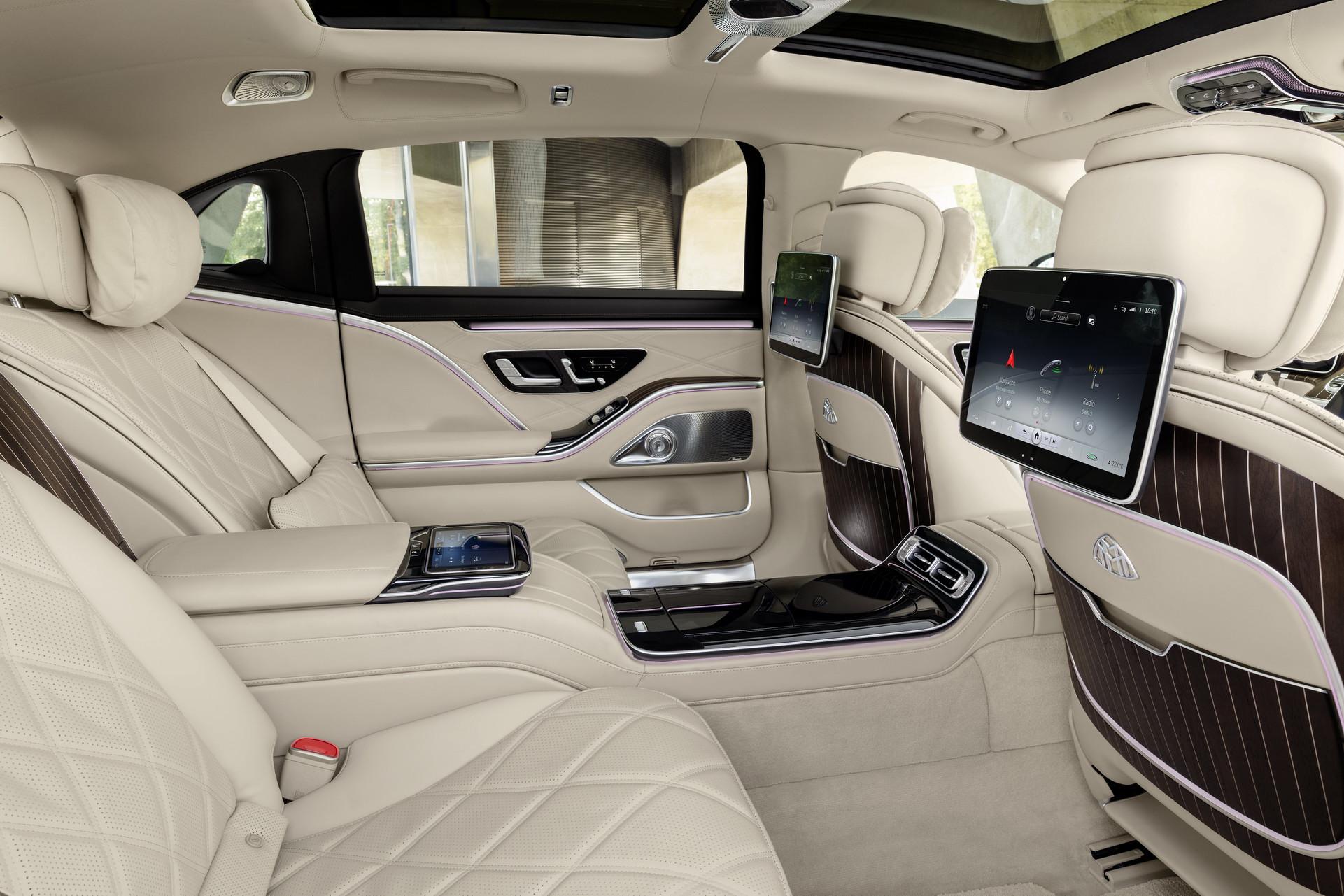 интерьер Mercedes-Maybach S-Class 2021