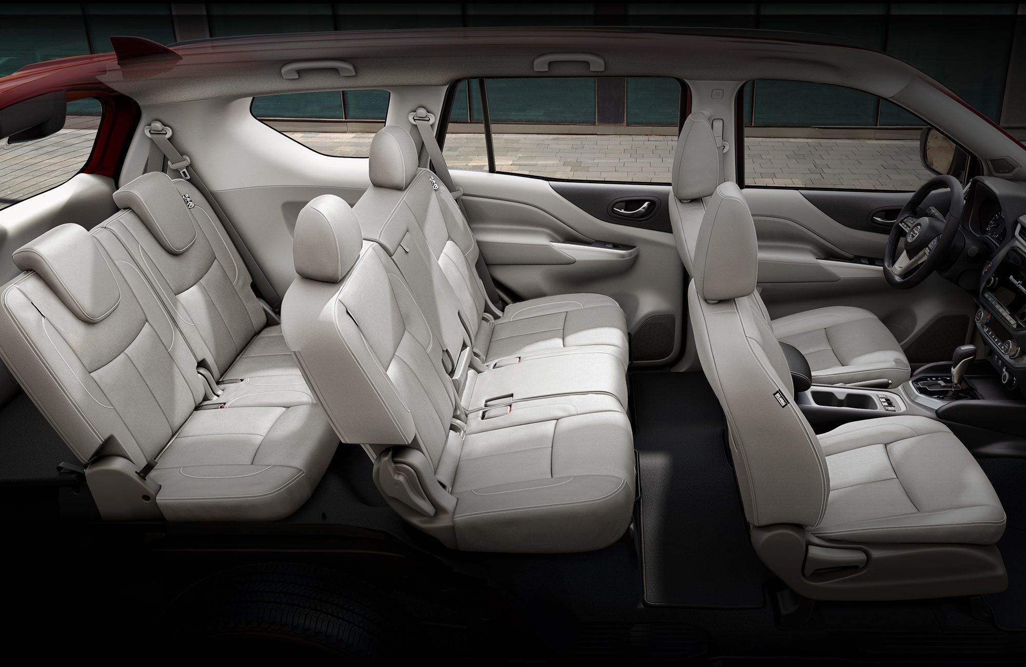 интерьер Nissan X-Terra 2021