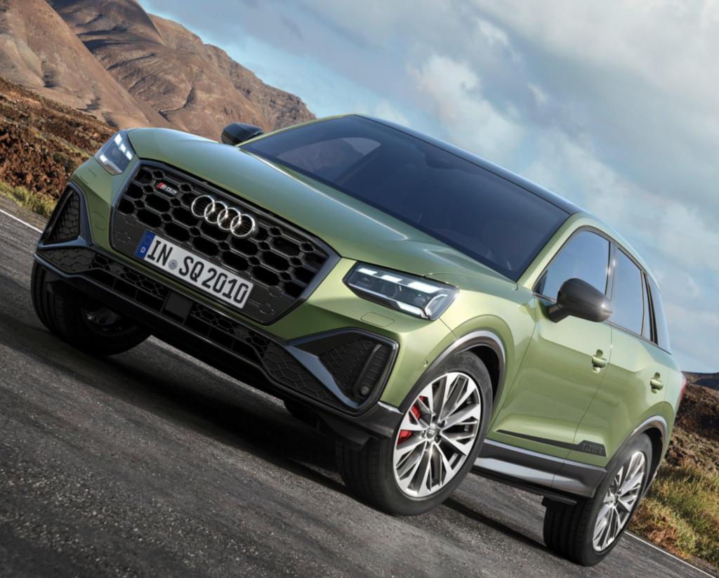 новый Audi SQ2 2021 года