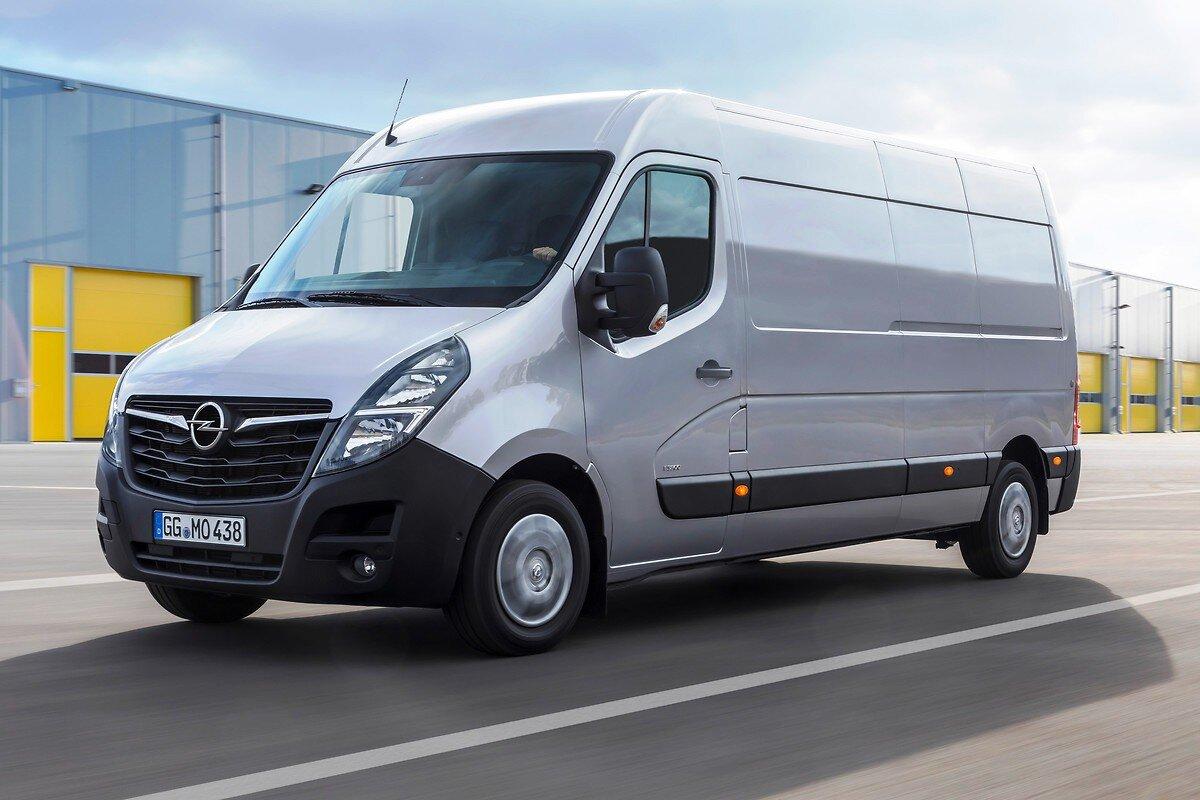 Рестайлинговый Opel Movano 2021