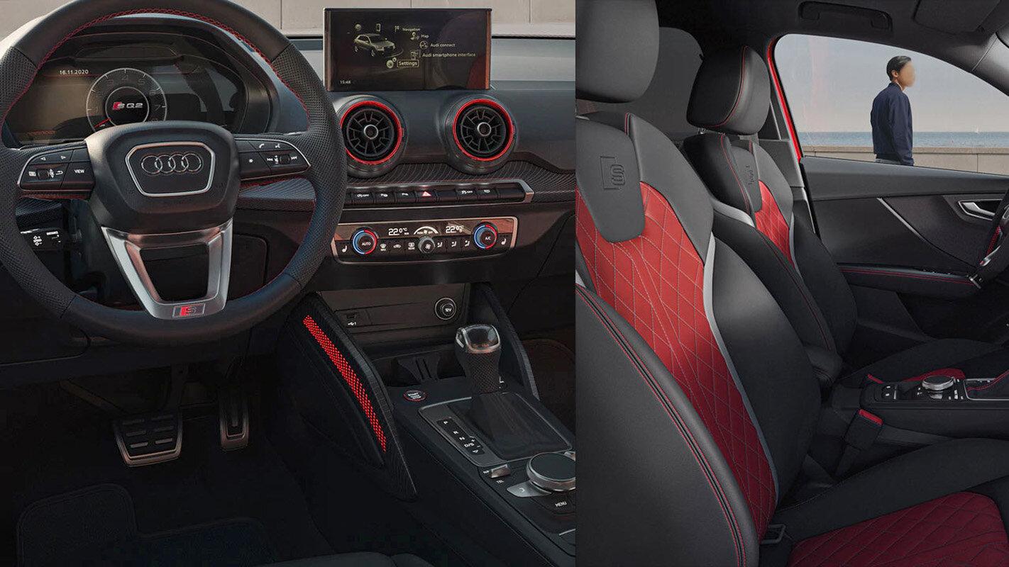 салон Audi SQ2 2021 фото