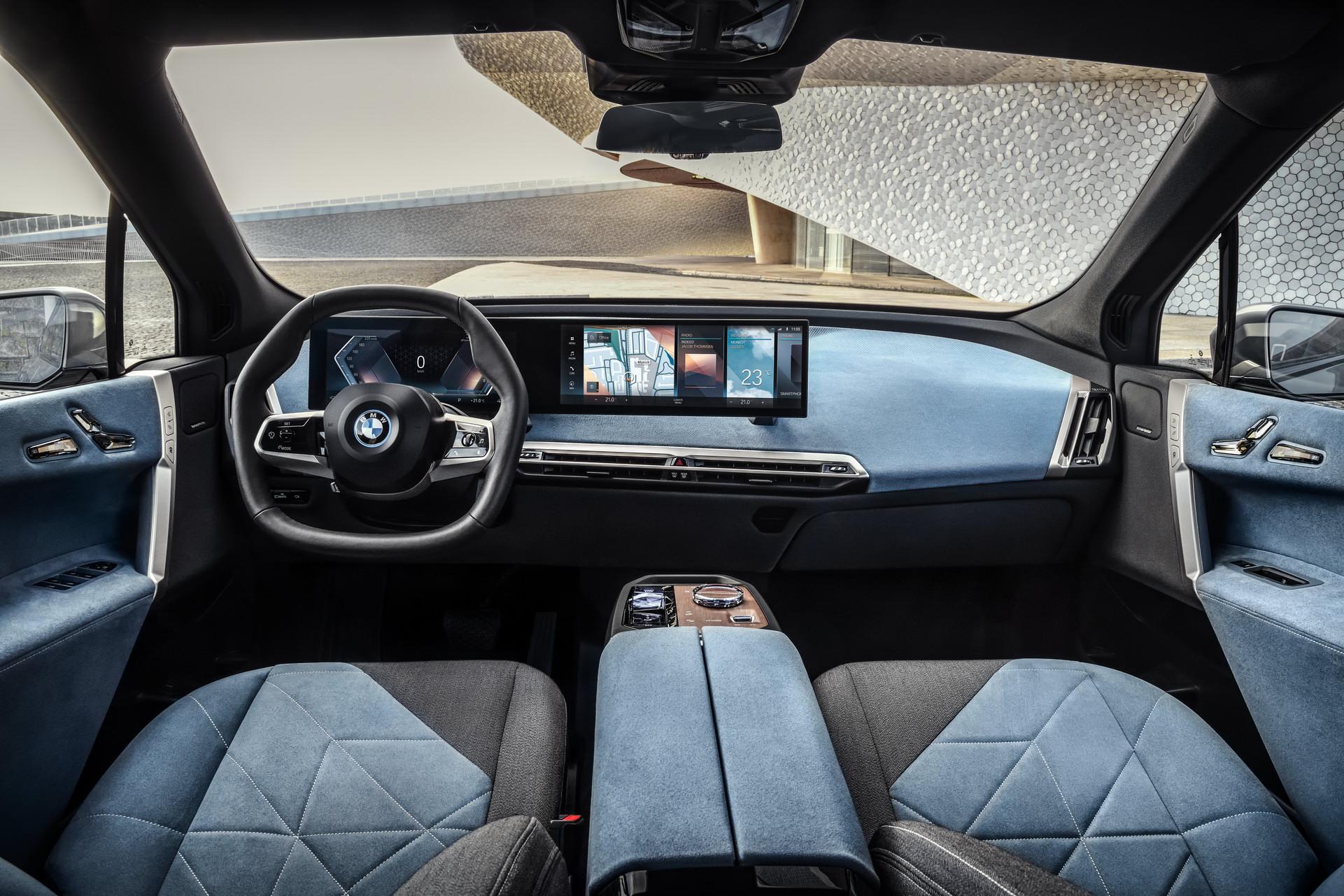 салон BMW iX фото