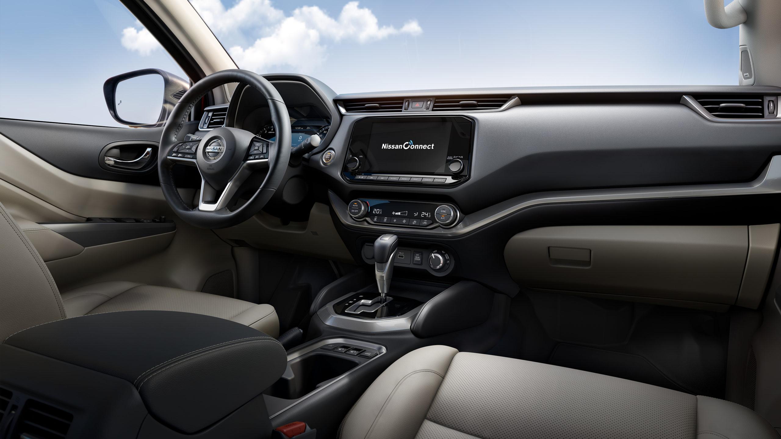 салон Nissan X-Terra 2021 фото