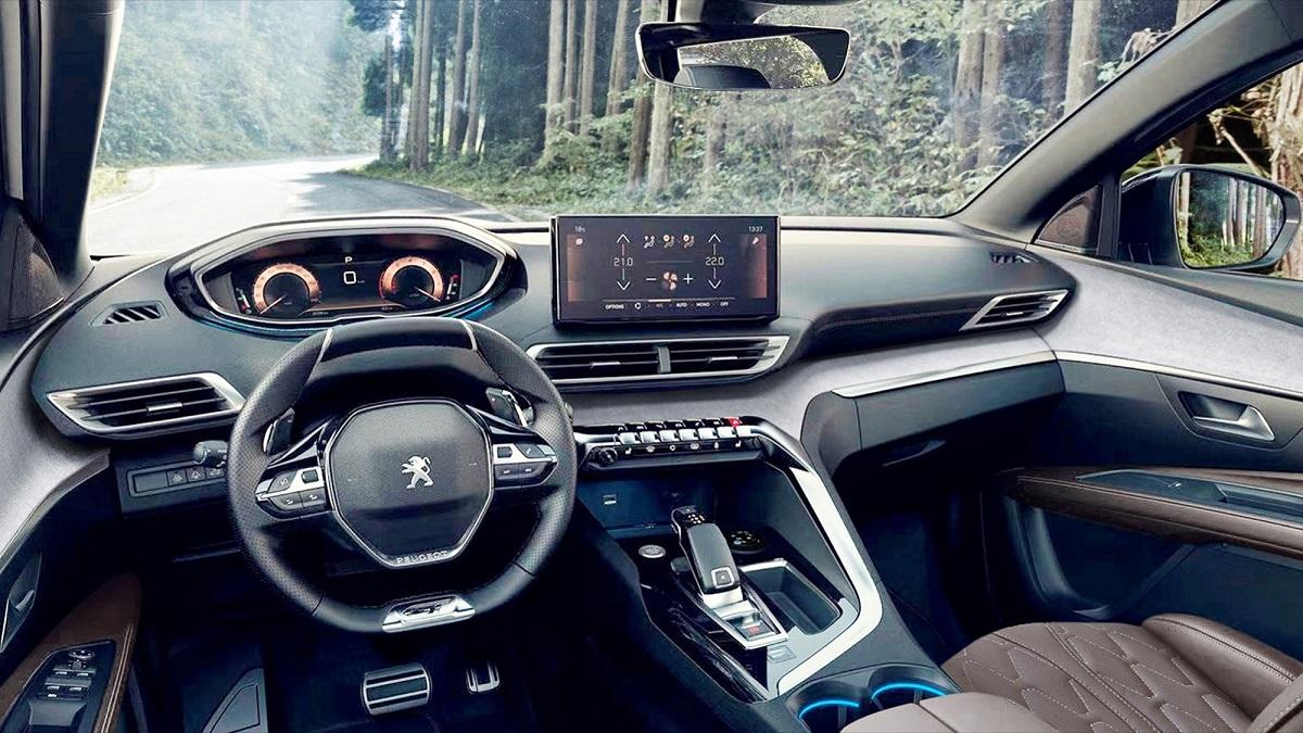 салон Peugeot 4008 2021 фото