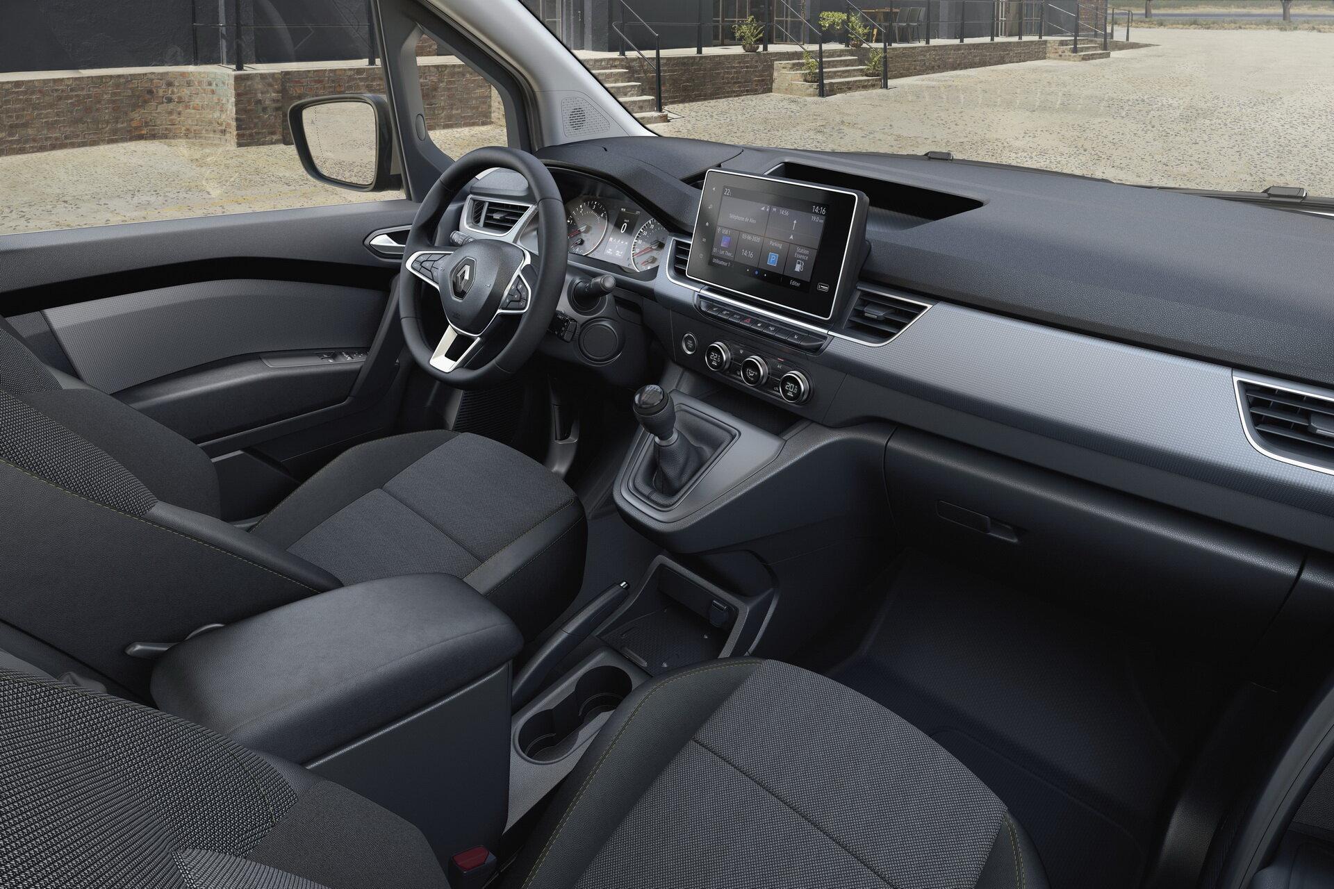 салон Renault Kangoo 2021 фото