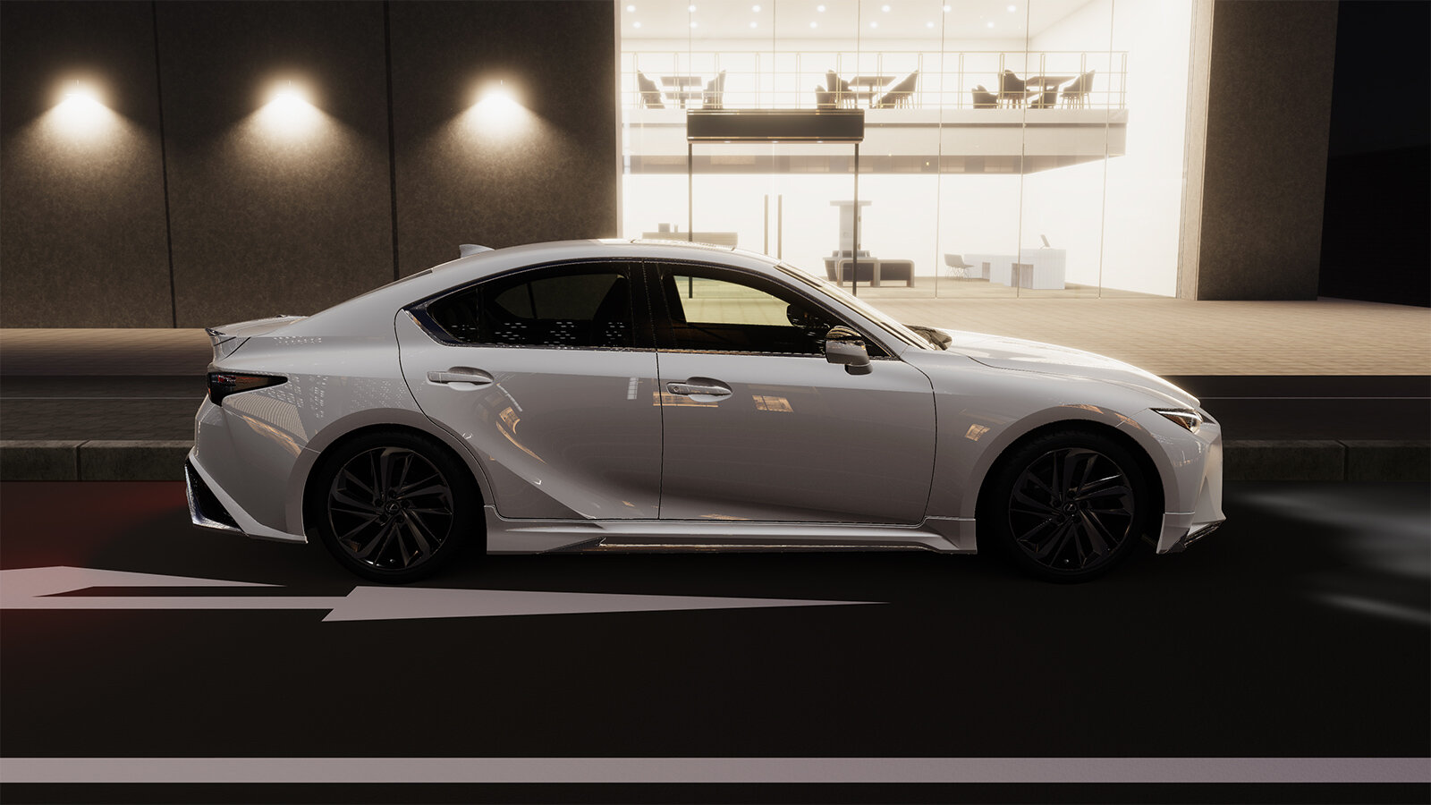 тюнинг Lexus IS 2021 от Modellista