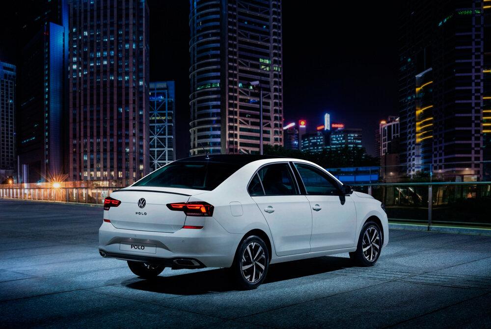 задняя часть Volkswagen Polo 2021 «Спорт»