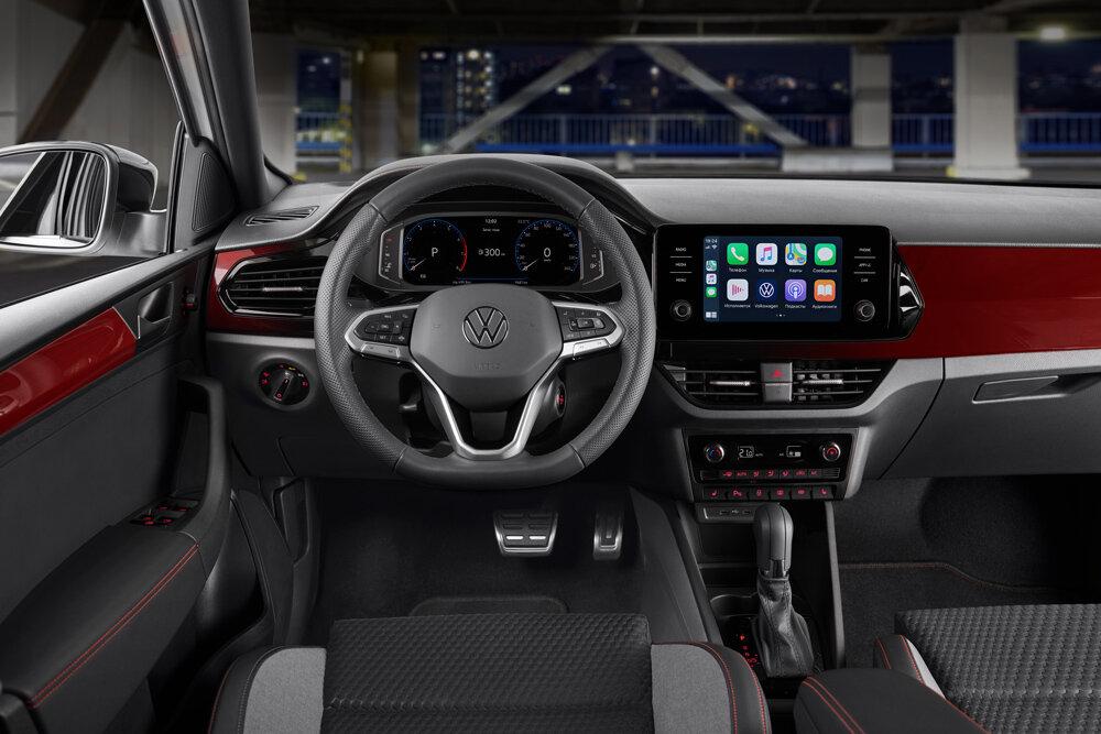 салон Volkswagen Polo 2021 «Спорт» фото