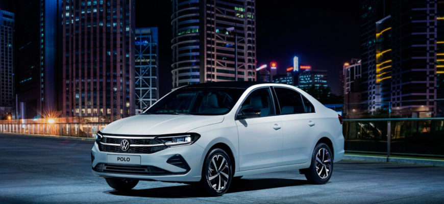 Volkswagen Polo 2021 «Спорт» сбоку