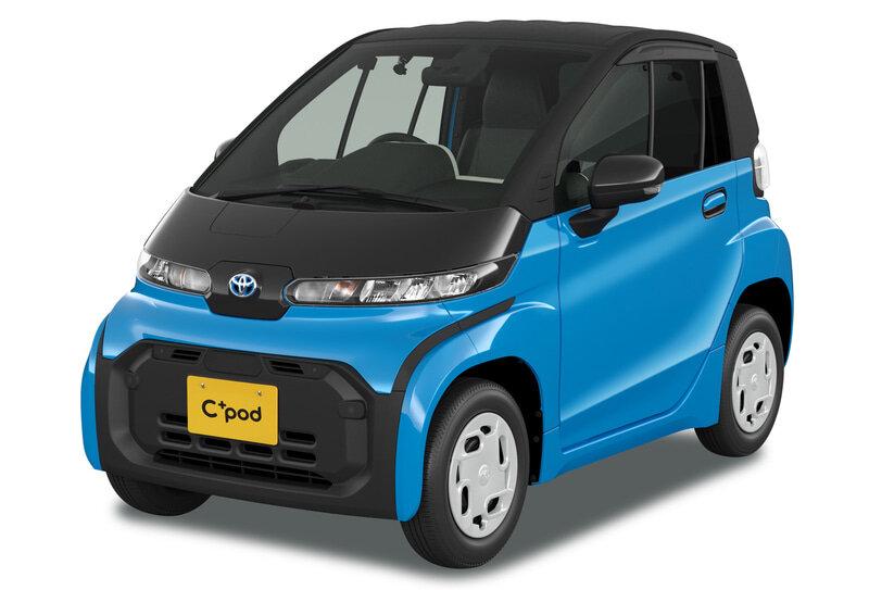 электромобиль Toyota C+ Pod фото