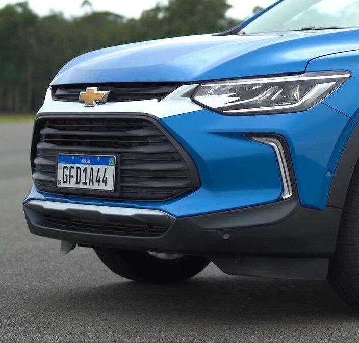 фары, решетка, бампер Chevrolet Tracker 2021 в России