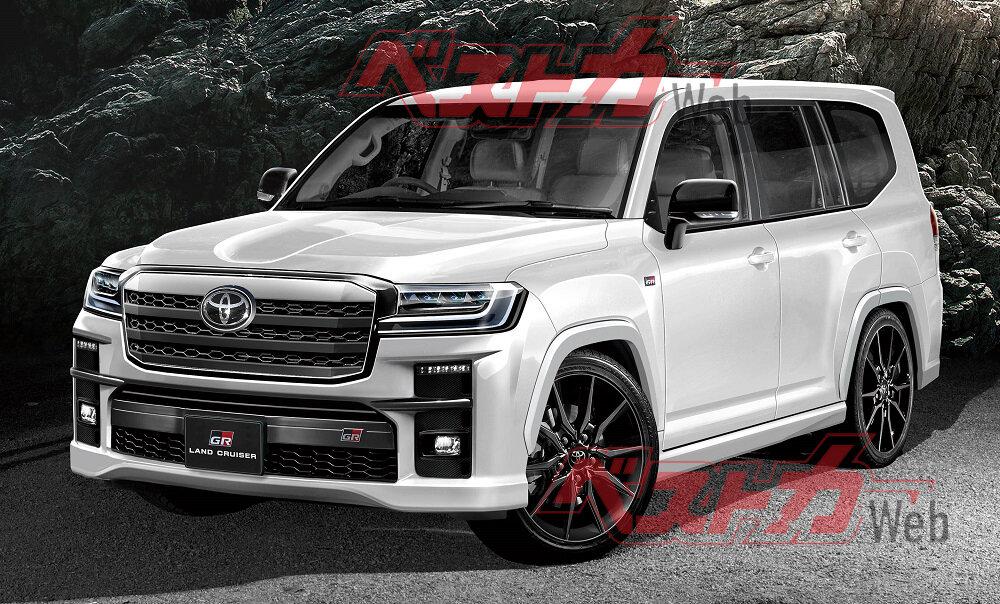 Toyota Land Cruiser 300 GR 2021 - 2022 фото