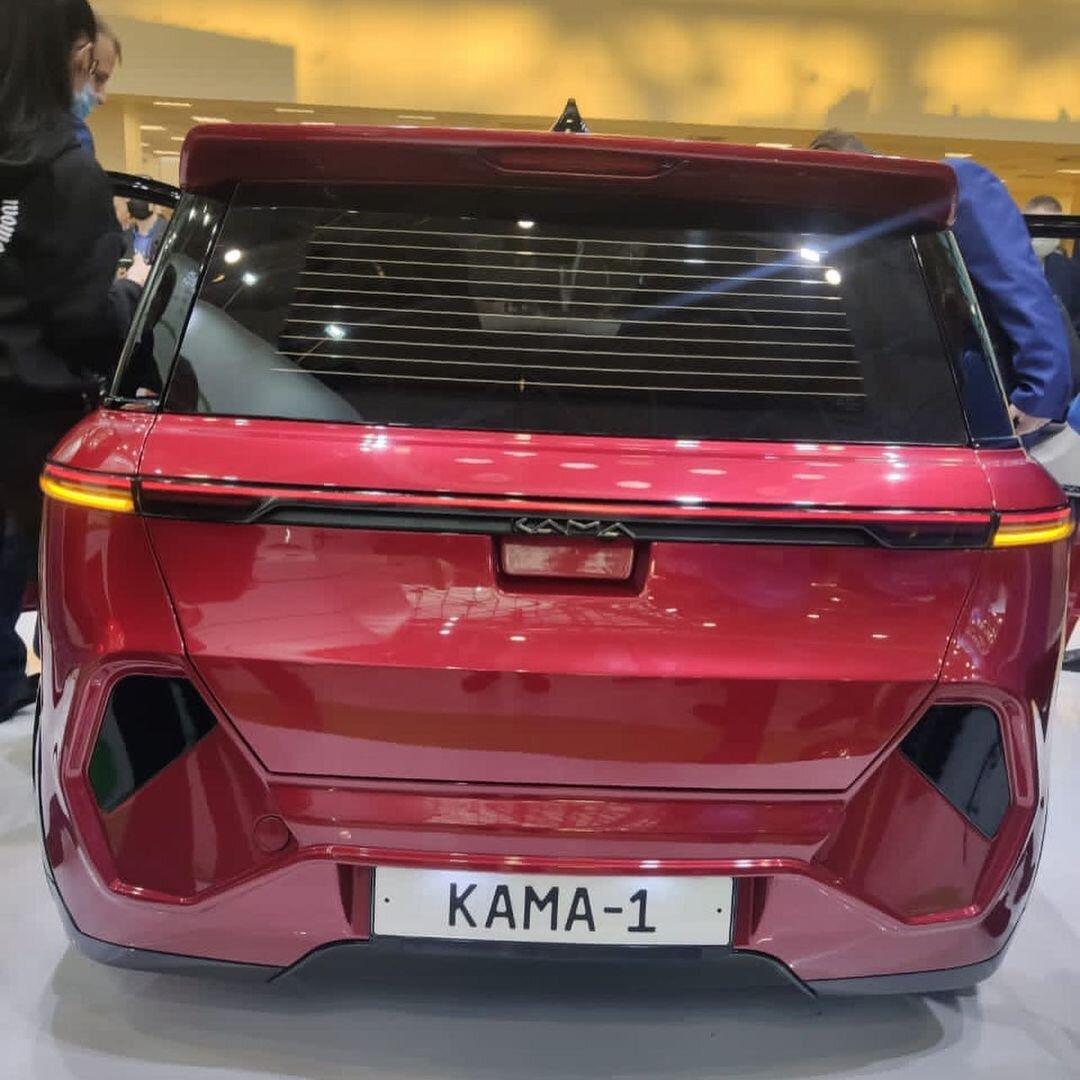 задние фонари Кама-1
