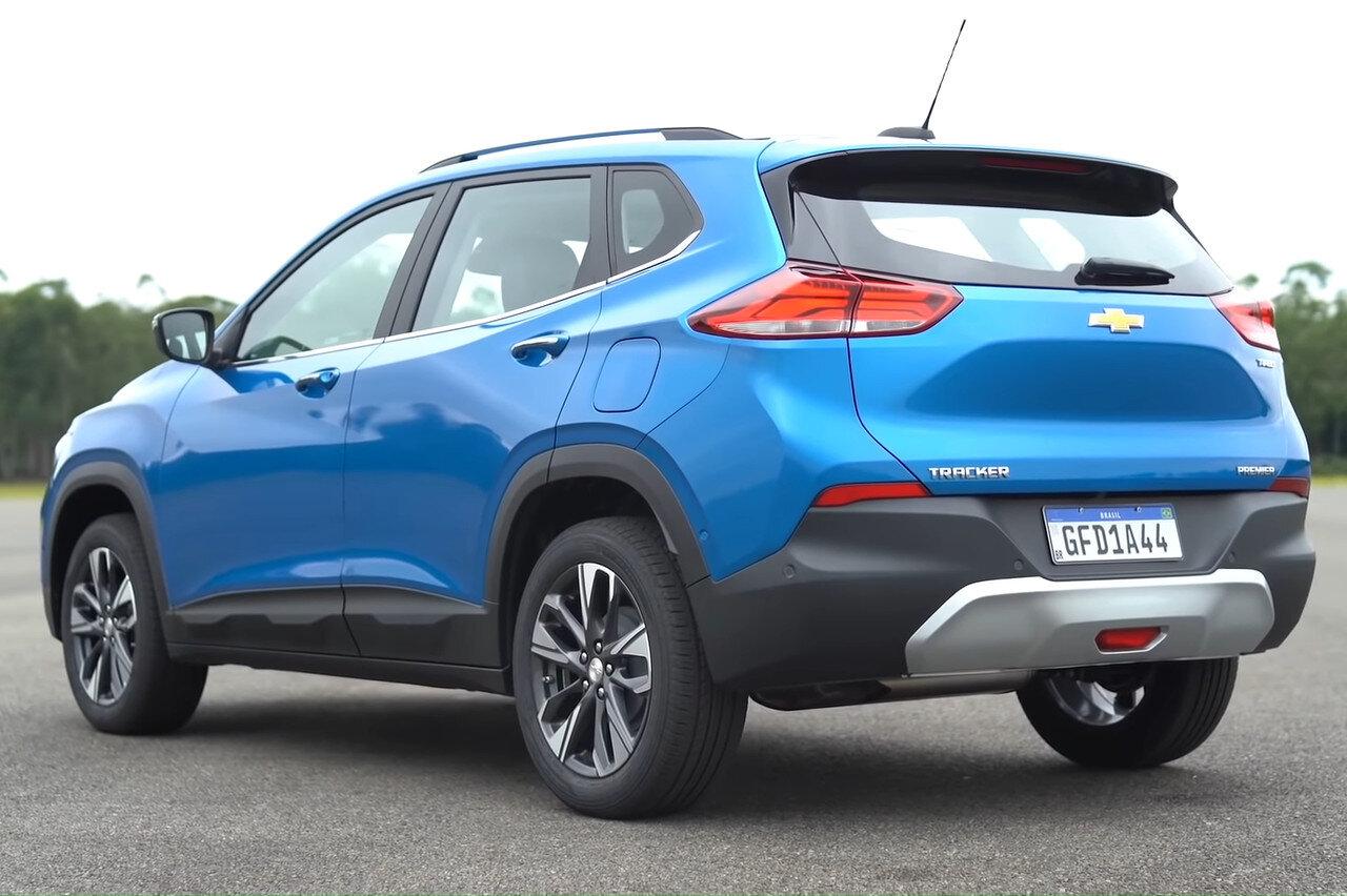 задняя часть Chevrolet Tracker 2021 в России