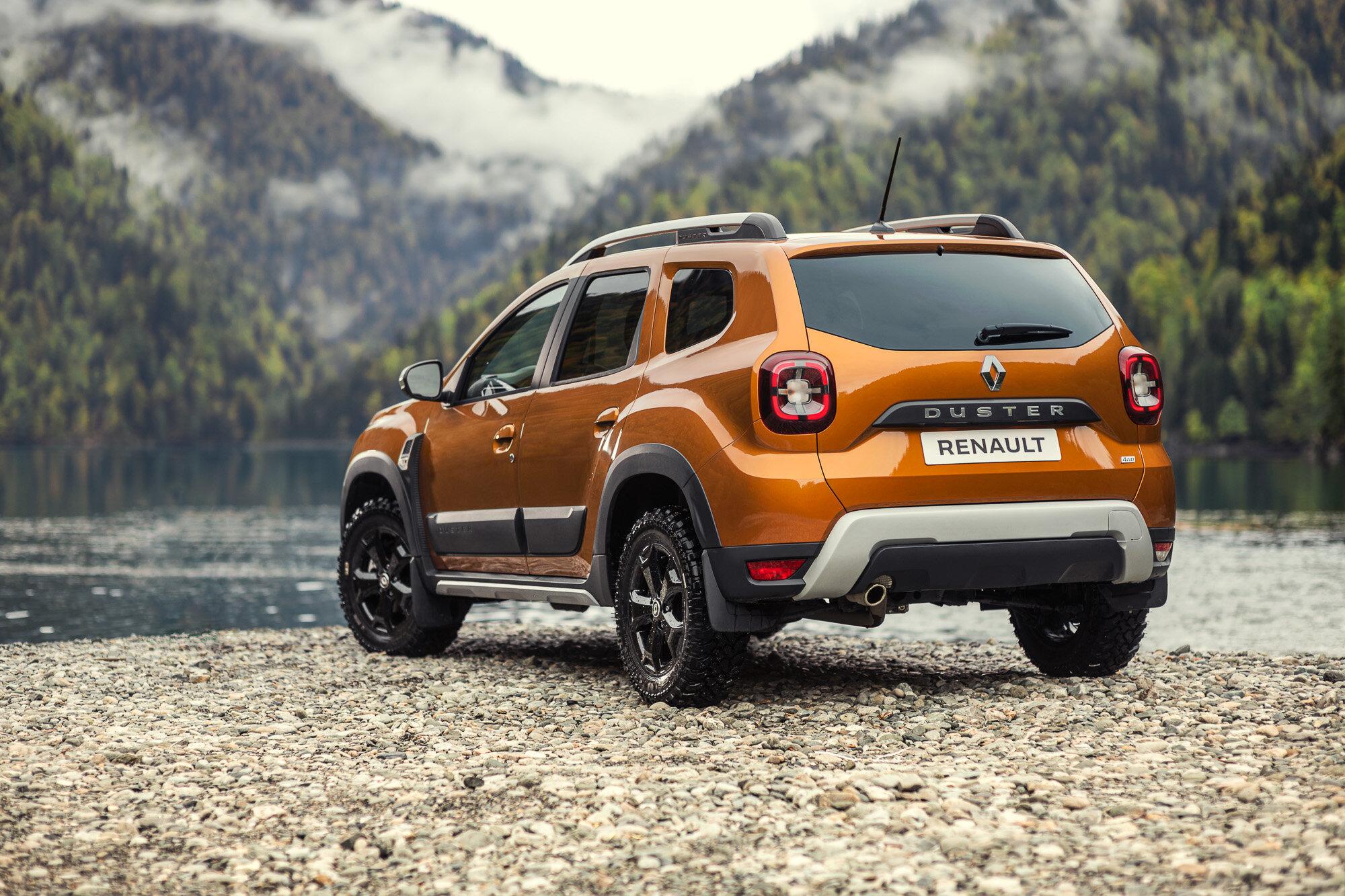 задняя часть Renault Duster 2021 в России