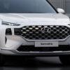 фары, решетка, бампер Hyundai Santa Fe 2021 в России