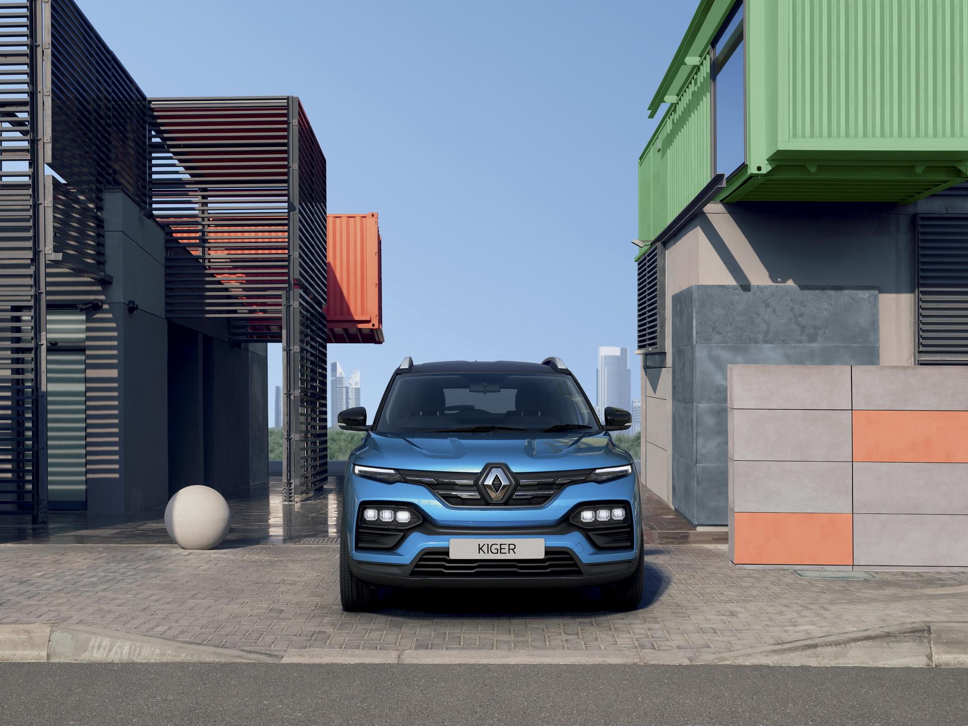 фары, решетка, бампер Renault Kiger 2022