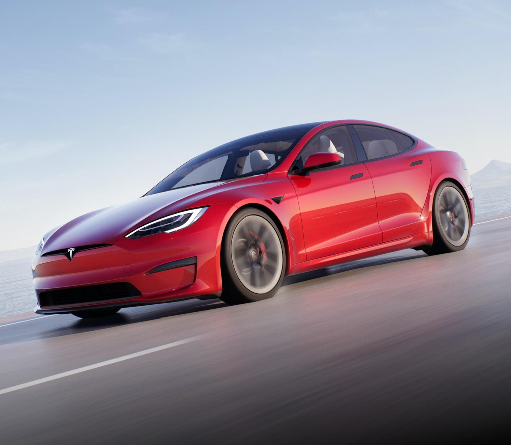Новая Tesla Model S 2021 - 2022 фото