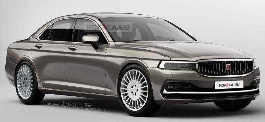 Новая «Волга» ГАЗ-3102 2021