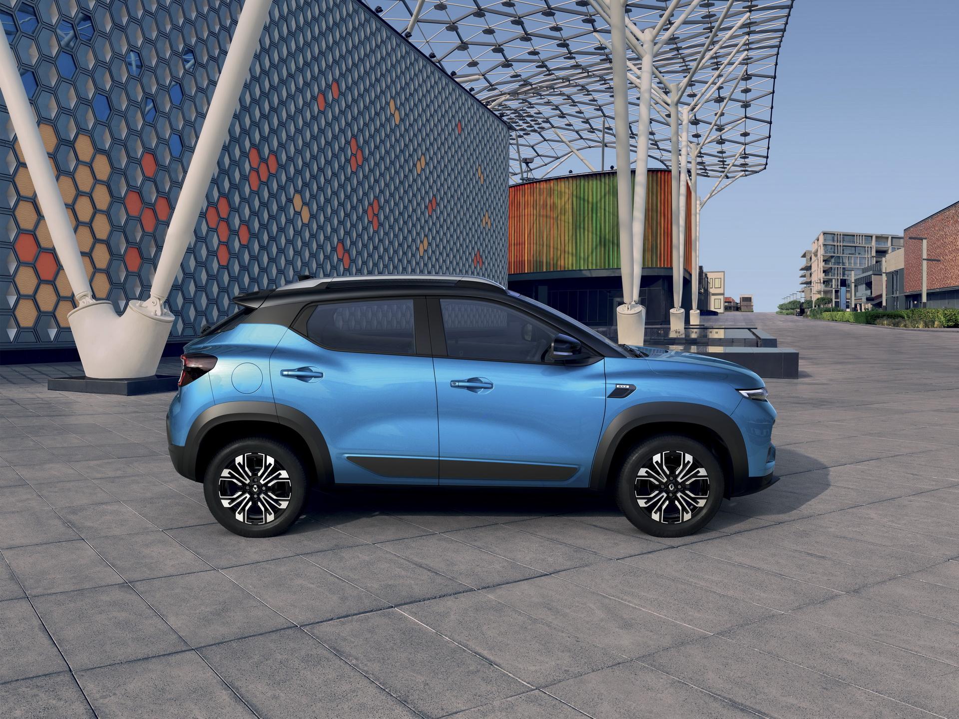 Renault Kiger 2022 сбоку