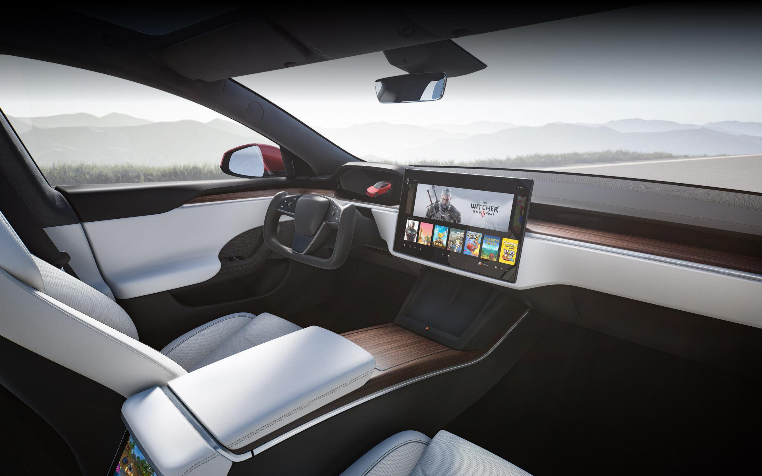салон Tesla Model S 2021 - 2022