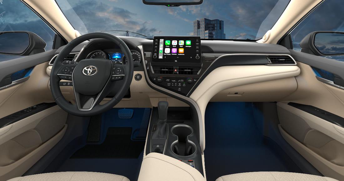 салон Toyota Camry XV70 2021-2022 фото