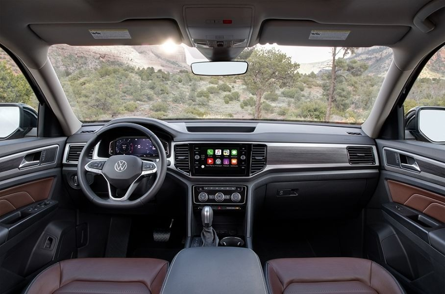 салон Volkswagen Teramont 2022 для России