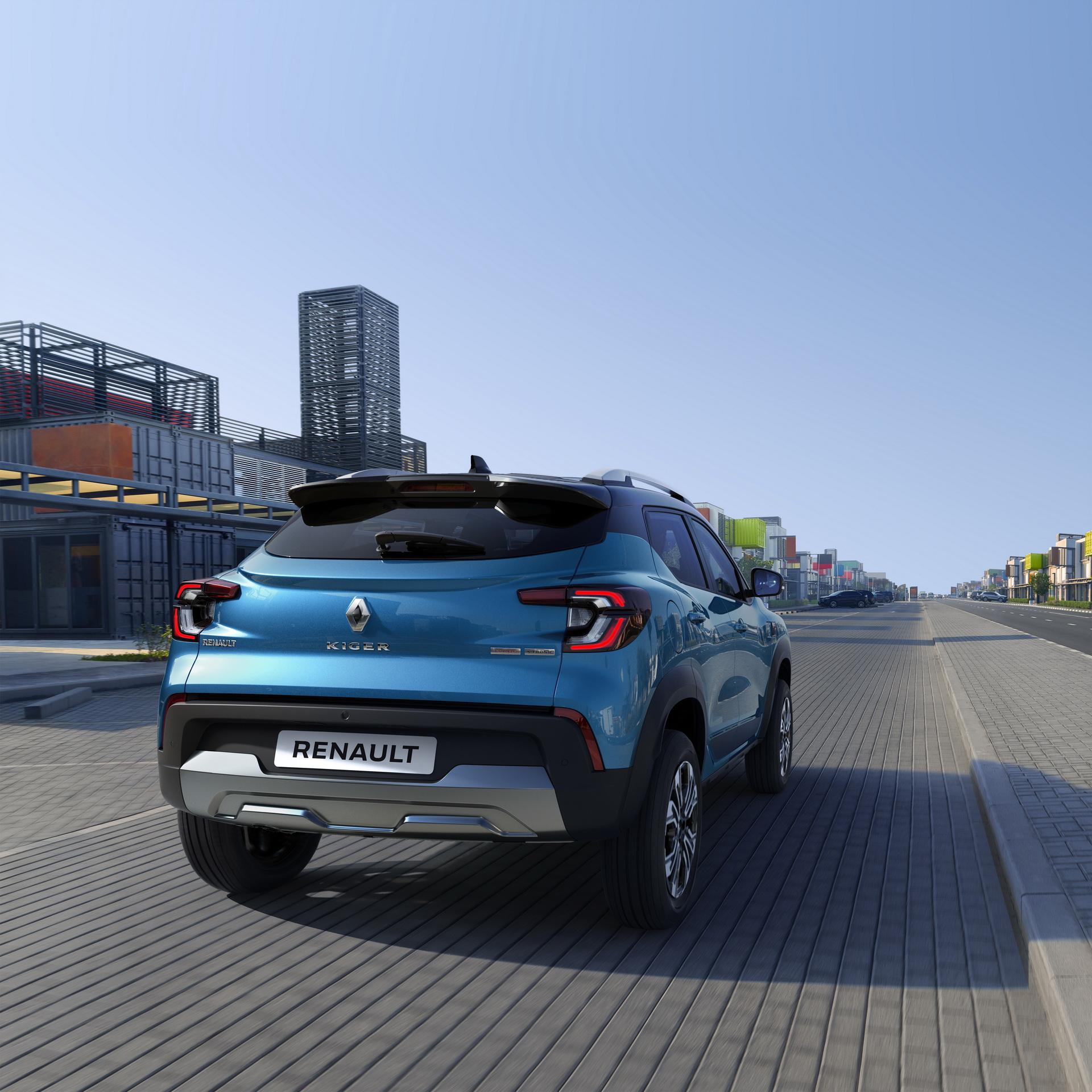 задние фонари Renault Kiger 2022