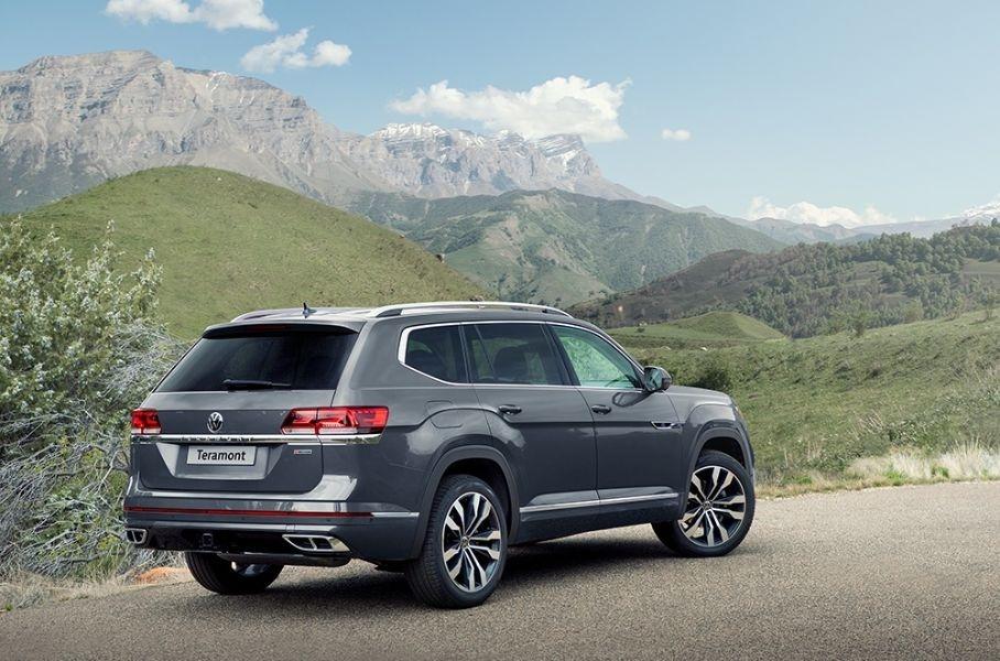 задняя часть Volkswagen Teramont 2021 - 2022 для России