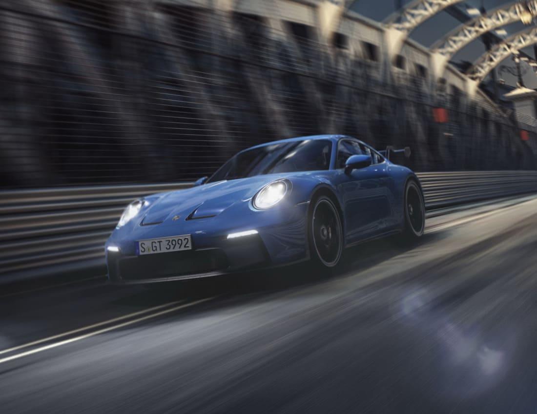 фары Porsche 911 GT3 2022