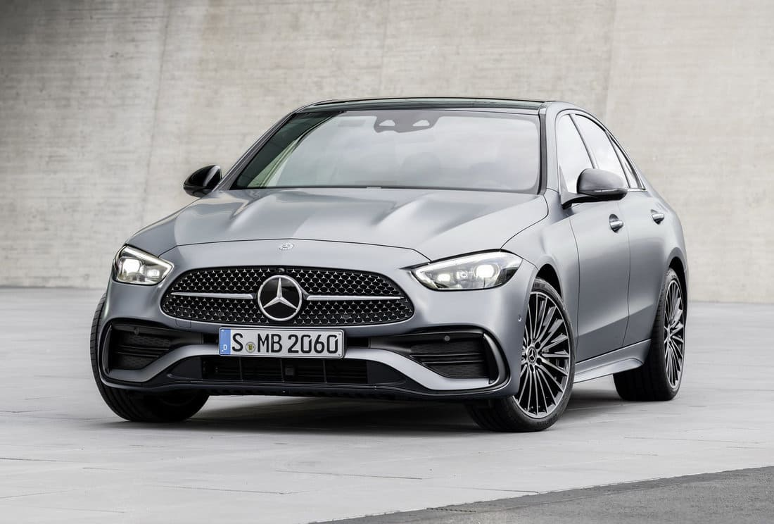 фары, решетка, бампер Mercedes C-Class W206 2022